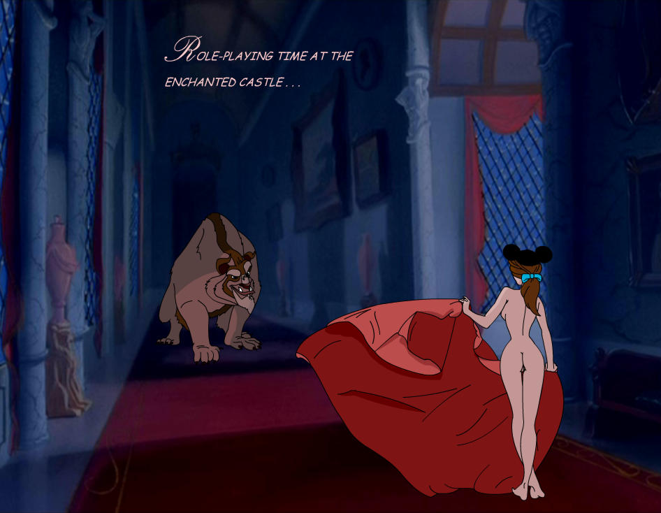 nude belle beauty the beast and Catra she ra princesses of power
