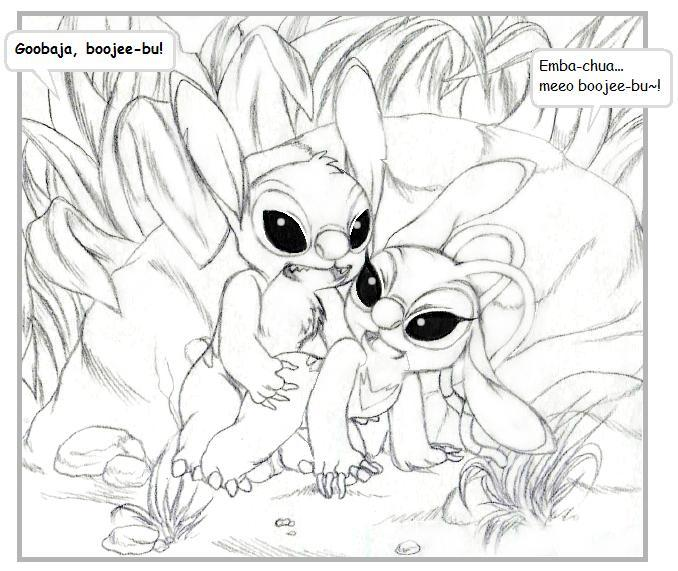 lilo stitch cousins experiments and Futa all the way through
