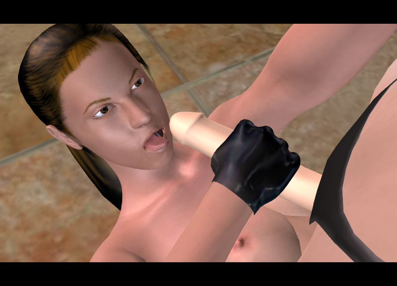 with 3d croft horse lara Ghost in the shell nudes