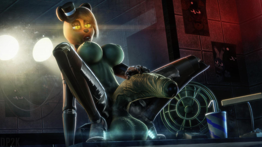toy chica x toy freddy Dead or alive