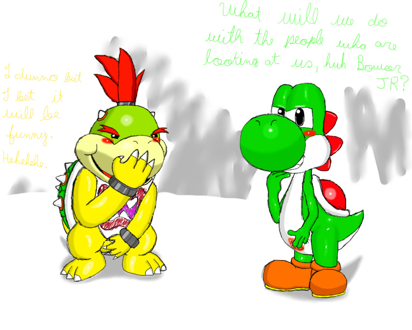 bowser clown koopa car jr Brandy and mr whiskers nude