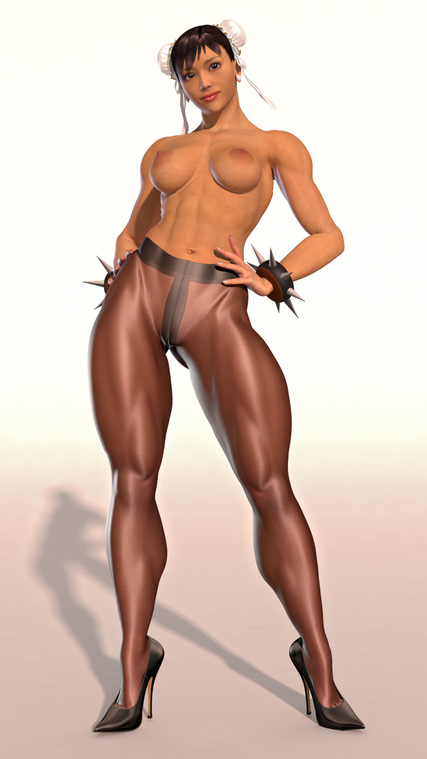 full body midna form human Dead or alive xtreme 3 gif